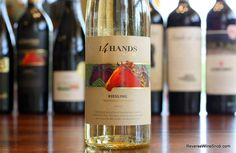 The Reverse Wine Snob: 14 Hands Winery 2013 Riesling - Applause-Worthy. BULK BUY! Vibrant, sweet and tasty Riesling from Washington State. http://www.reversewinesnob.com/2015/03/14-hands-riesling.html