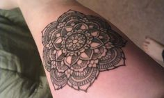 Done by Miss Mikki at Fortune Tattoo in Portland OR. This tattoo means a lot to me, I've wanted a mandala tattoo for a while, and couldn't be happier with the outcome!