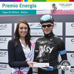 Premio Energia per la tappa 2, da Belfast a Belfast