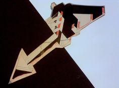 1977 A_ CASA ZIZZOLA C1_cartone cm. 19 x 44_by Brunetto De Batté