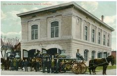 Merced's 2nd Fire House (1907-1952), 1914