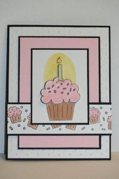 SC314 Crazy for Cupcakes by sn0wflakes - Cards and Paper Crafts at Splitcoaststampers