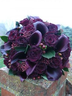 Bouquet of Black Bacarra Roses More