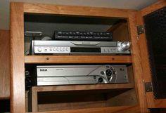 DVD Player Cabinet