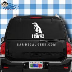"Captain Caveman with Parrot car bumper sticker wall decor vinyl decal 5/""x 5/"""