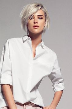 60 New Short Hairstyles for 2020 – Bobs and Pixie Haircuts . 60 New Short Hairs Grunge Haircut, Crop Haircut, New Short Hairstyles, Bob Hairstyles, Pixie Haircuts, Medium Hair Styles, Short Hair Styles, Assymetrical Hair, Short Blonde Bobs
