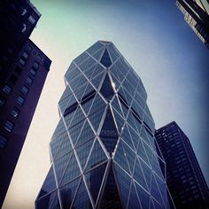 Hearst Tower: April 3, 2013 (Instagram photo by @millermobley)
