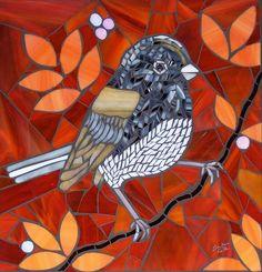 oiseau en mosaïque