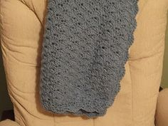 crocheted blanket pattern    Might be a good project for Grandma :)