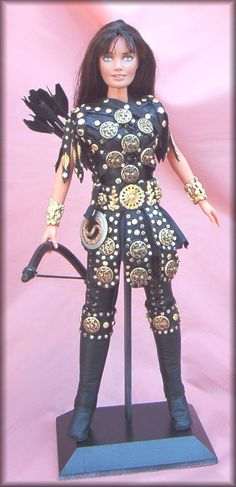 Xena Equestrian - OOAK fashion dolls by VALKYRIE