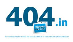 The Domain 404.in is a second time in Auction at Flippa.... Good luck with your bid!