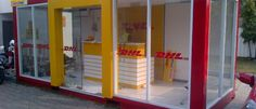 DHL Outlet container