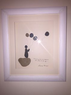 Pebble art 'knowing when to hold on and when by Ourlittlebuttons