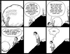 """""""The Modern Sisyphus""""  by Barry Deutsch, September 19th, 2011"""