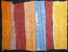Ray Ken - Tali - Sand dune - 198 x 152,5 cm http://www.aboriginalsignature.com/art-aborigene-tjala/ray-ken-tali-sand-dune-198-x-1525-cm