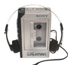 Sony Walkman - we've come so far!! I remember dropping my in the creek - heartbroken!