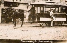 Pražská tramway v roce 1876