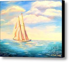 DEAL ENDS TODAY (MAY 13TH) AT 5:00! Limited Time Promotion: Sailing Away Stretched Canvas Print