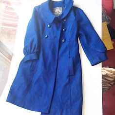 GUESS Button down Peacoat, Size small - Mercari: Anyone can buy & sell
