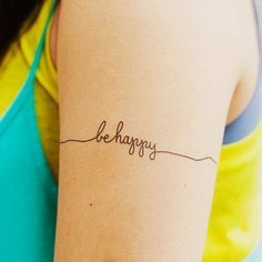 don't worry be happy tattoo - Google Search                                                                                                                                                                                 More