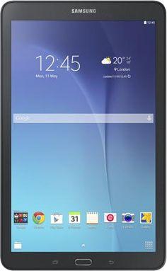 Samsung Galaxy Tab E 9.6 SM-T561N 8Gb Black  — 14090 руб. —