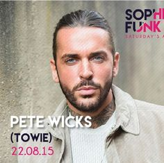 pirate pete towie | Sophistifunk™ presents: Pete Wicks (Pete the Pirate - TOWIE) Tickets ...