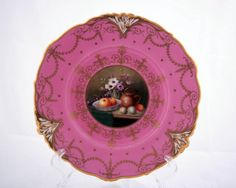 Royal Worcester plate : Lot 670