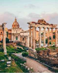 Roman Forum in Rome, Italy Rome Travel, Travel Abroad, Travel Trip, Travel Destinations, Rome Photography, Travel Photography, Best Of Rome, Roman Forum, Travel And Leisure