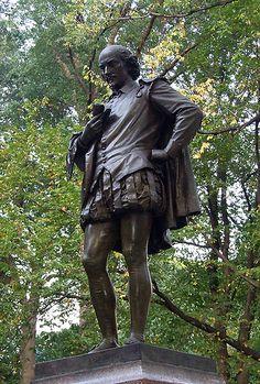 William Shakespeare, Central Park, New York City