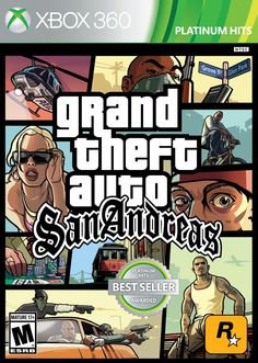 Videojuego GTA San Andreas Xbox 360. Compra en línea fácil y seguro. #Kémik