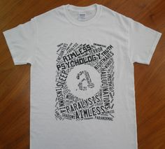 "The Official ""Aimless"" Word Cloud T-Shirt    Gildan 100% Ultra Cotton - Thick Quality - Preshrunk"