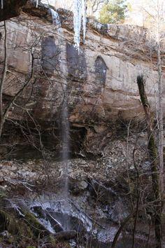 Sweden Creek Falls -- via ExploringNWArkansas.com