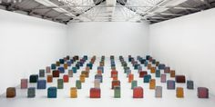Rachel Whiteread - Untitled (One Hundred spaces)