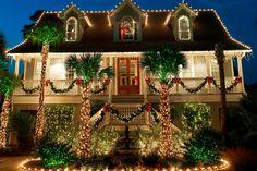 Coastal Christmas - Residential Holiday Decorating and Christmas Light Service Portfolio | Christmas Decor