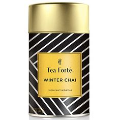 Tea Fort WINTER CHAI Limited Edition Loose Leaf Herbal Tea 317oz Tea Tin *** See this great product.