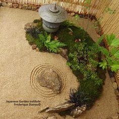 tsubo-niwa frederique dumas www.japanese-garden-institute.com www.frederique-dumas.com