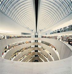 RWI Library | Architect Santiago Calatrava