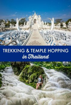 Thailand hiking, temples, and outdoor adventures. Thailand travel inspiration and the best ways to mix culture and adventure on your Thailand vacation.
