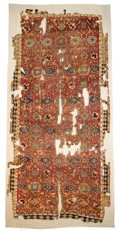 Kuba 14ft. 9in. x 6ft. 10in. Caucasus 17th century Wool warp, wool weft, wool pile