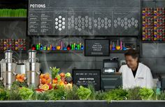 Potions Herbal Juice Lab - Emily Smith Design
