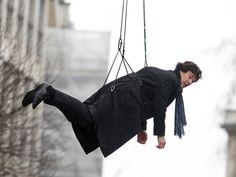 8 Pictures Of Benedict Cumberbatch Suspended In The Air