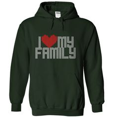 View images & photos of Christmas I love my Family hoodie - sweater style t-shirts & hoodies