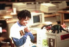 Whoopi's Massive Monitor in Jumpin' Jack Flash Instagram Outfits, Instagram Clothing, Sister Act, Whoopi Goldberg, Drama Movies, 80s Movies, She Movie, Being Good, Attractive People
