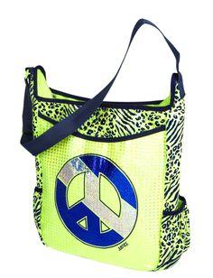 Cheetah Peace Sequin Carryall | Totes & Duffles | Bags & Totes | Shop Justice