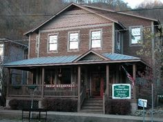 """Historic Matewan House Bed & Breakfast Our Bed & Breakfast is just """"down the street"""" from the trail entrance. Matewan is ATV friendly"""