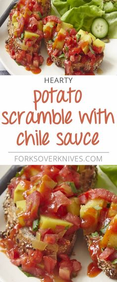 This hearty dish is easy to prepare ahead of time which makes it an ideal holiday breakfast dish and a good option to serve for brunch. When you're ready to serve, simply reheat the potatoes and spoon them on top...  Read more