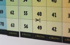 - Noch 100 Tage - Countdown - ein Designerstück von Wi-La-No bei DaWanda