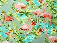 Waverly Outdoor Fabric in Flamingo Platinum  https://1502fabrics.com/product/waverly-outdoor-flamingoin-platinum/