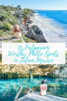 Heading to Tulum, Mexico soon and wondering where the best spots are? This is the best guide for must see cenotes and the best photo spots in Tulum, Mexico. Tulum Mexico, Riviera Maya Mexico, Cozumel, Puerto Vallarta, Machu Picchu, Belize, Costa Rica, México City, South America Travel
