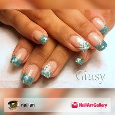Scaglie by nailian via Nail Art Gallery #nailartgallery #nailart #nails #gel